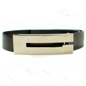 Gucci Vintage Belt in Copper Brown